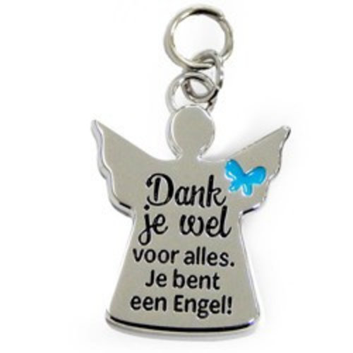 Charms for you Bedeltje - Dank je wel - Charms for you