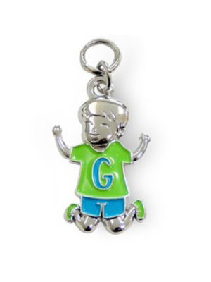 Charms for you Bedeltje - G - Jongen - Charms for you