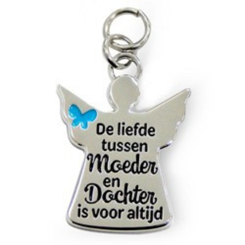 Charms for you Bedeltje - De liefde tussen moeder & dochter - Charms for you