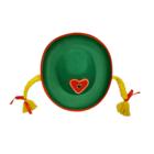 Chris Toys Chris Toys - Hoed - Tiroler - Vrouw - Met vlechtjes