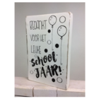 Cotton Counts Cotton Counts - Decoratie - Bedankt voor het leuke schooljaar! - 10x15cm