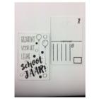 Cotton Counts Cotton Counts - Kaart - Hout - Bedankt voor het superfijne schooljaar!