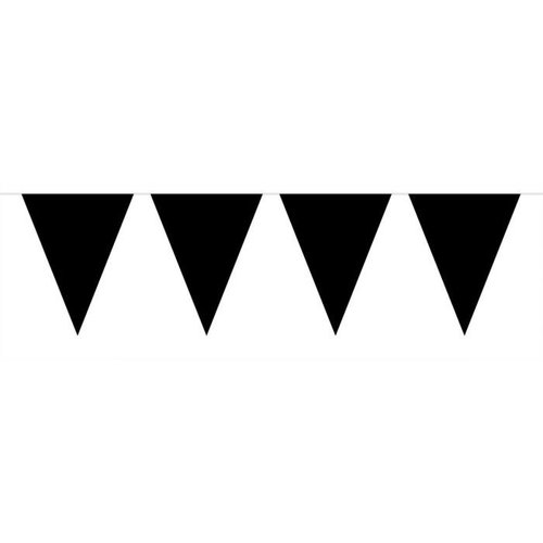 Folat Folat -  Vlaggenlijn - Mini - Zwart - 3m