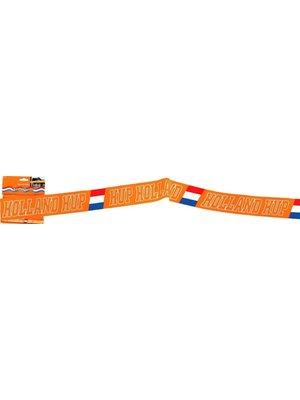 Folat Afzetlint - Hup Holland hup - Oranje - 15m