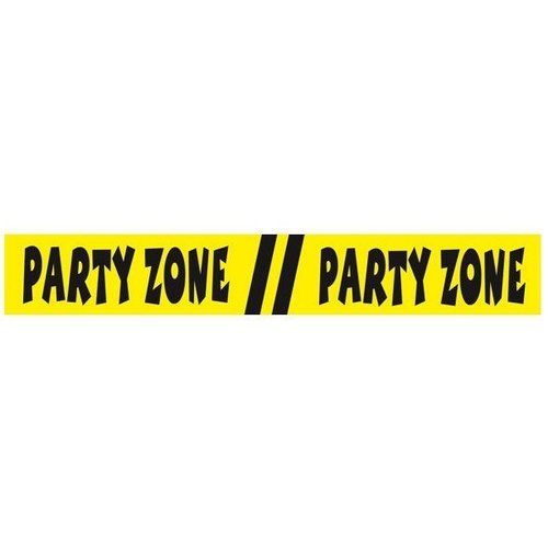 Folat Afzetlint - Party Zone - 15m