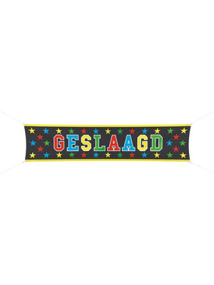 Folat Banner - Geslaagd - 180x40cm
