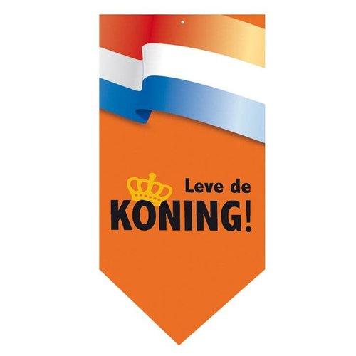 Folat Banner - Leve de koning - Papier