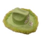 Folat Folat - Hoed - Cowboy - Groen - Met licht