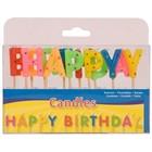 Folat Folat - Kaarsjes - Op prikker - Happy Birthday
