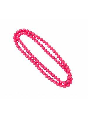 Folat Folat - Ketting - Neon roze - 100cm