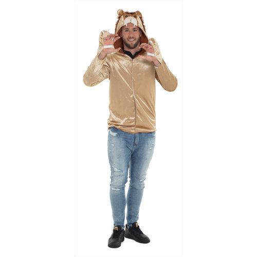Folat Folat - Kostuum - Dierenjas - Leeuw - XL/XXL