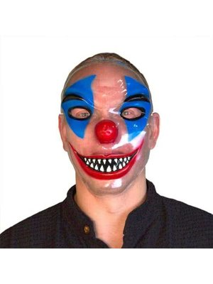 Folat Masker - Killerclown - Bill - Transparant