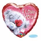 Folat Folat - Me to you - Folieballon - I love you Teddy - 45cm