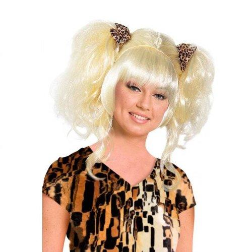 Folat Pruik - Blond - Cavewoman