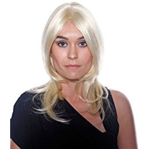 Folat Pruik - Blond - Maxima
