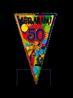 Folat Puntvlag - Abraham - 90x150cm