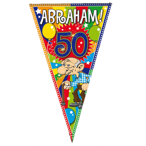 Folat Folat - Puntvlag - Abraham - 90x150cm