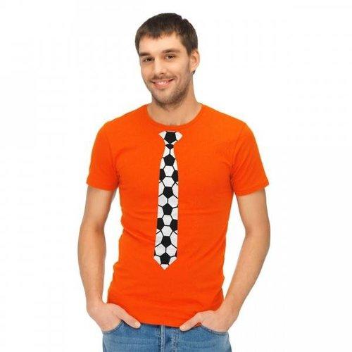 Folat Folat - Shirt - Mannen - Voetbalstropdas - Oranje - XXL
