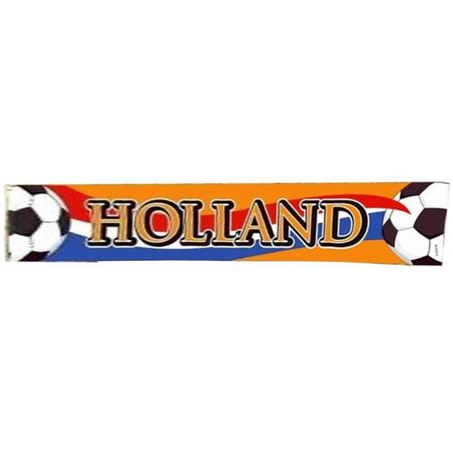 Folat Straatbanner - Holland - Oranje - 370x60cm