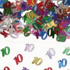 Folat Folat - Tafeldecoratie - 10 jaar - 14 gr.*
