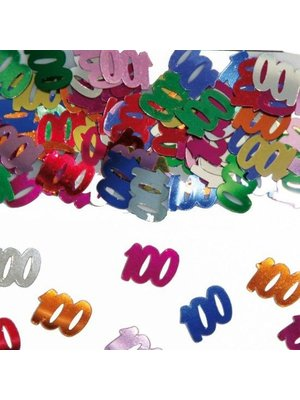 Folat Tafeldecoratie - Confetti - 100 Jaar - 14 Gram
