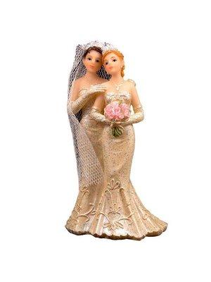 Folat Folat - Trouwbeeldje - Koppel - Vrouw/vrouw