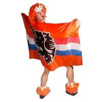 Folat - Vlag/poncho - Hollandse leeuw - Oranje
