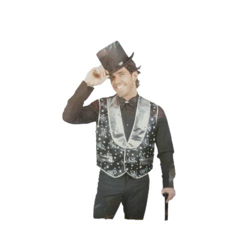 Funny Fashion Funny Fashion - Gilet - Goochelaar - XL