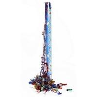 Confettikanon - Bonte kleuren - Folie - 80cm