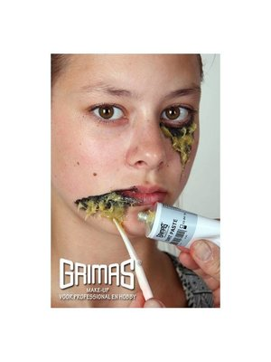 Grimas Grimas - Dirt pasta - Gele pus - 60ml