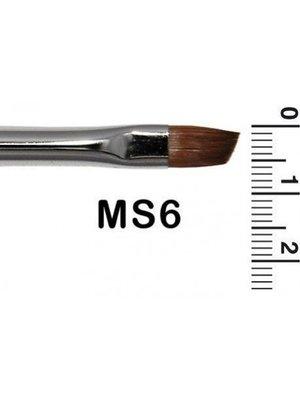 Grimas Grimas - Schminkpenseel - Schuin - Marterhaar - MS6