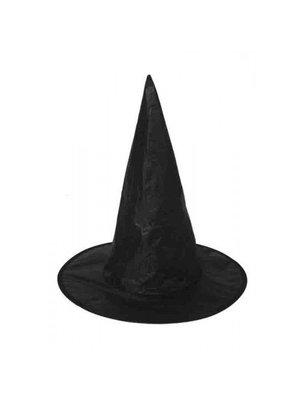 Henbrandt Hoed - Zwart - Heksenhoed