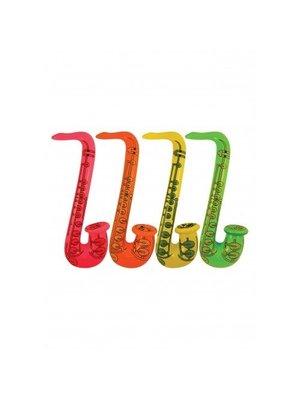 Henbrandt Saxofoon - Opblaasbaar - 55 cm - 1 stuks - Willekeurig geleverd