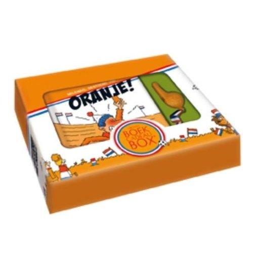 Imagebooks Boek cadeaubox - Gestoord van oranje