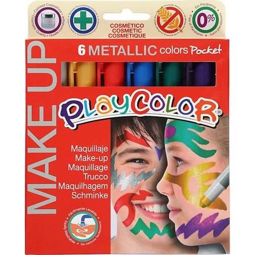 Instant - Schminkstiften - Metallic - 6st