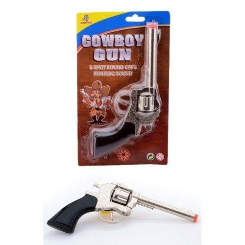 Johntoy Johntoy - Cowboy - Pistool - 8 Schots