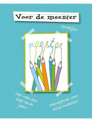 Marieke Witke - Boekje - Voor de meester