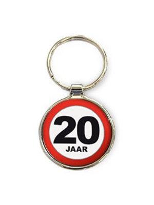 Miko Sleutelhanger - 20 Jaar - Rond