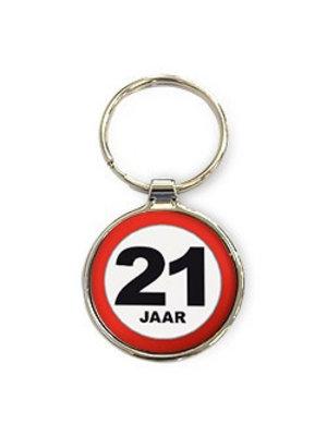 Miko Sleutelhanger - 21 Jaar - Rond
