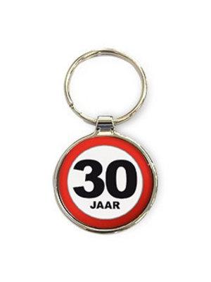 Miko Sleutelhanger - 30 Jaar - Rond