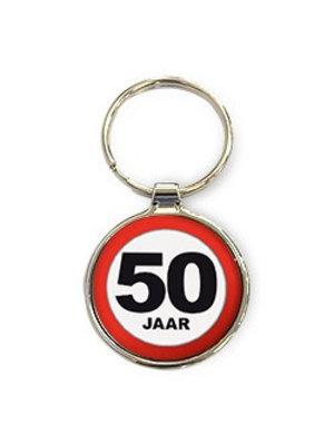 Miko Sleutelhanger - 50 Jaar - Rond