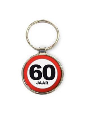 Miko Miko - Sleutelhanger - 60 Jaar - Rond