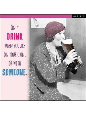 MILK MILK - Kaart - Only drink...