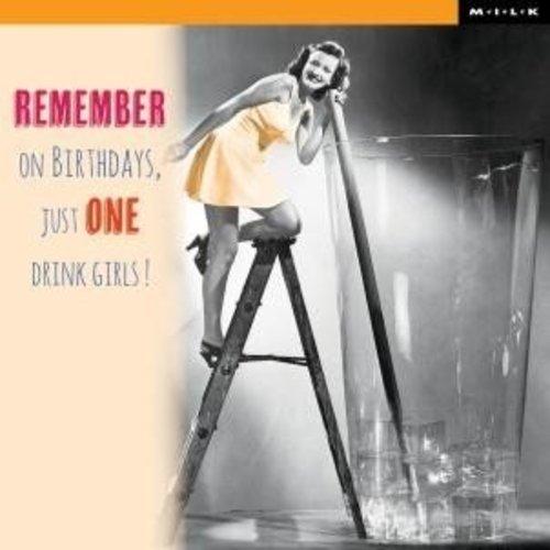 MILK MILK - Kaart - Remember on birthdays...