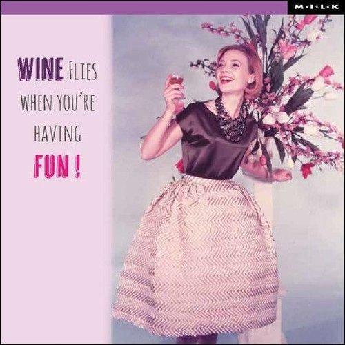 MILK MILK - Kaart - Wine flies...