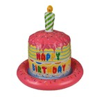 Out of the blue Out of the Blue - Opblaas hoed - Happy birthday cake