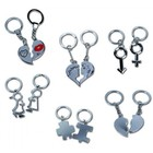 Out of the blue Out of the blue - Sleutelhanger - Partner - Metaal - Set van 2