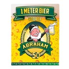 Paperdreams Paperdreams - 1 Meter bier kaart - Abraham
