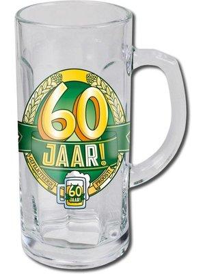 Paperdreams Bierglas - Bierpul - 60 Jaar