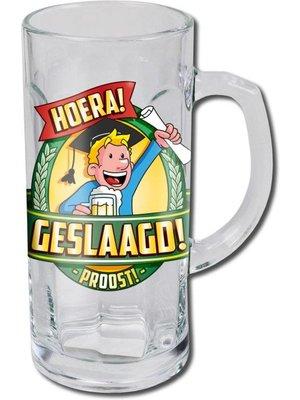 Paperdreams Bierglas - Bierpul - Geslaagd